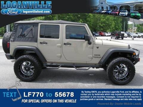 2017 Jeep Wrangler Unlimited for sale at Loganville Quick Lane and Tire Center in Loganville GA