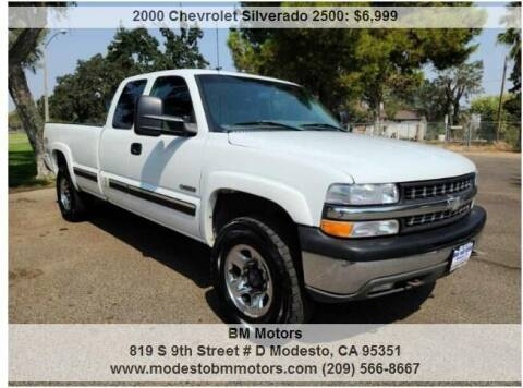 2000 Chevrolet Silverado 2500 for sale at BM Motors in Modesto CA