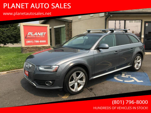2013 Audi Allroad for sale at PLANET AUTO SALES in Lindon UT
