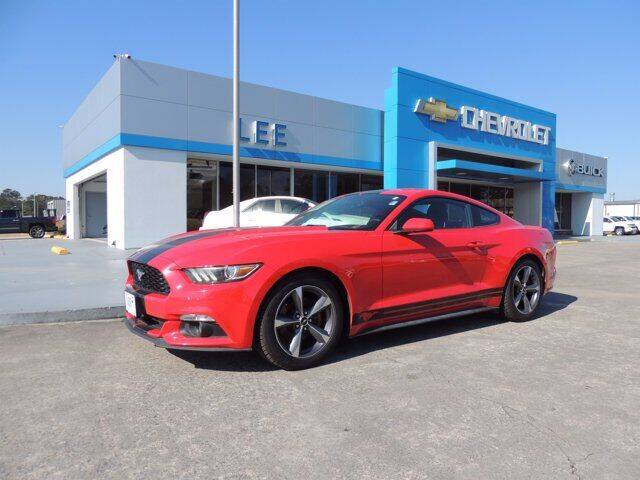 2015 Ford Mustang for sale at LEE CHEVROLET PONTIAC BUICK in Washington NC