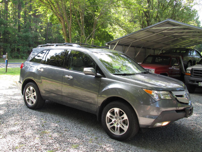 2008 Acura MDX for sale at White Cross Auto Sales in Chapel Hill NC