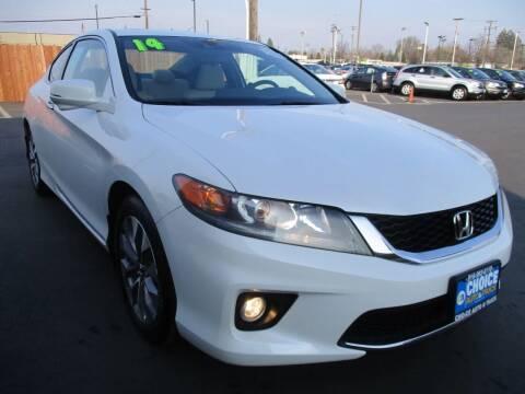 2014 Honda Accord for sale at Choice Auto & Truck in Sacramento CA