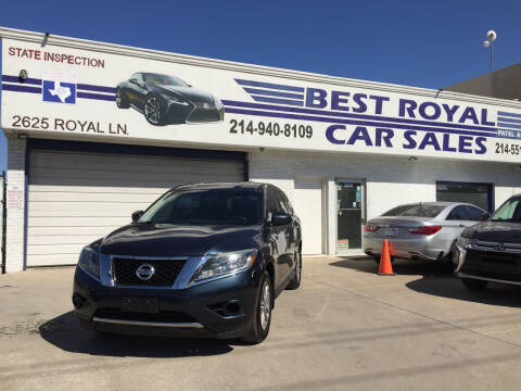 2014 Nissan Pathfinder for sale at Best Royal Car Sales in Dallas TX