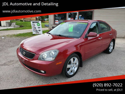 2007 Kia Optima for sale at JDL Automotive and Detailing in Plymouth WI