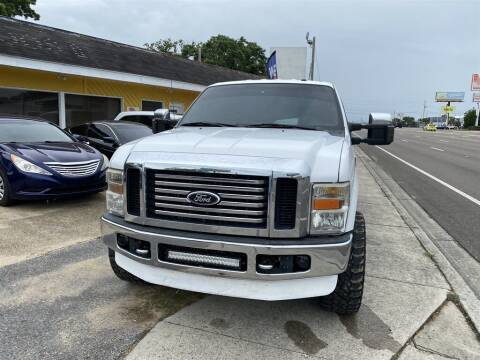 2009 Ford F-350 Super Duty for sale at THE COLISEUM MOTORS in Pensacola FL