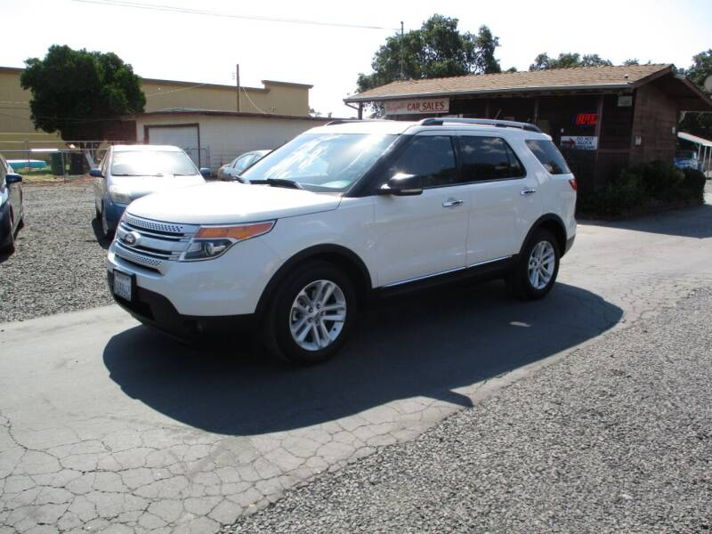 2012 Ford Explorer for sale at Manzanita Car Sales in Gridley CA