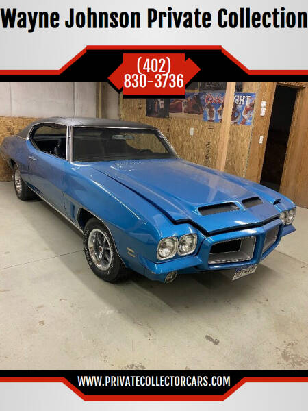 1972 Pontiac GTO for sale at Wayne Johnson Private Collection in Shenandoah IA