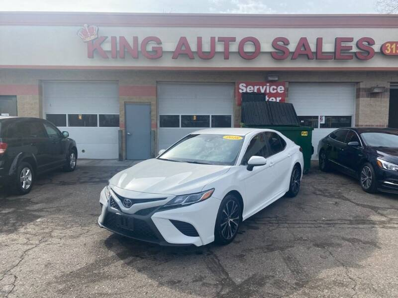 2018 Toyota Camry for sale at KING AUTO SALES  II in Detroit MI