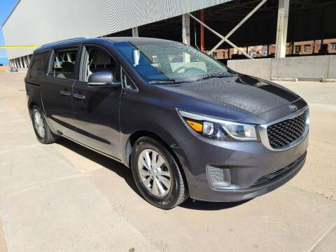 2015 Kia Sedona for sale at NEW UNION FLEET SERVICES LLC in Goodyear AZ
