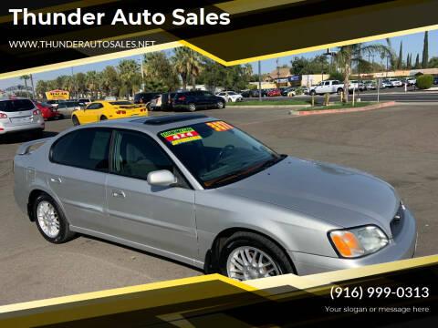 2004 Subaru Legacy for sale at Thunder Auto Sales in Sacramento CA