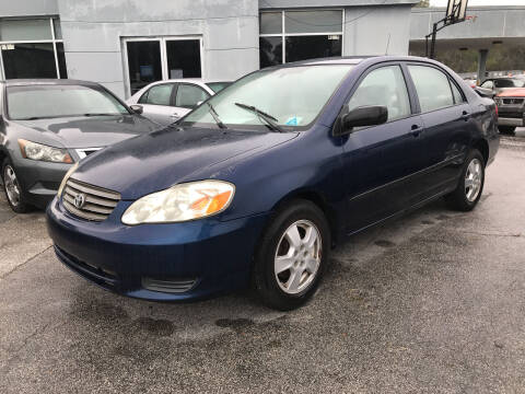 2004 Toyota Corolla for sale at Popular Imports Auto Sales in Gainesville FL