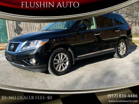 2014 Nissan Pathfinder for sale at FLUSHIN AUTO in Flushing NY