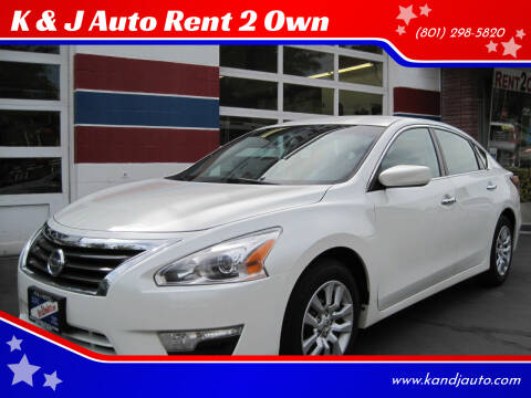 2015 Nissan Altima for sale at K & J Auto Rent 2 Own in Bountiful UT