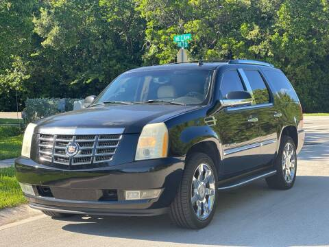 2007 Cadillac Escalade for sale at L G AUTO SALES in Boynton Beach FL