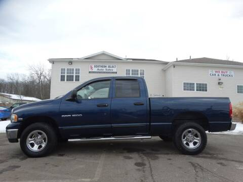 2005 Dodge Ram Pickup 1500 for sale at SOUTHERN SELECT AUTO SALES in Medina OH