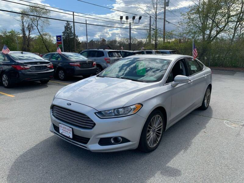2015 Ford Fusion for sale at Gia Auto Sales in East Wareham MA