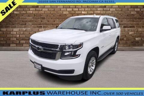 2016 Chevrolet Tahoe for sale at Karplus Warehouse in Pacoima CA