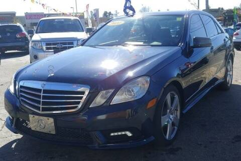 2011 Mercedes-Benz E-Class for sale at L&M Auto Import in Gastonia NC