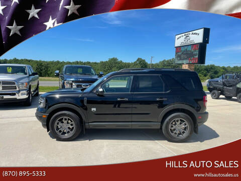 2021 Ford Bronco Sport for sale at Hills Auto Sales in Salem AR