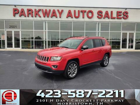 2017 Jeep Compass for sale at Parkway Auto Sales, Inc. in Morristown TN