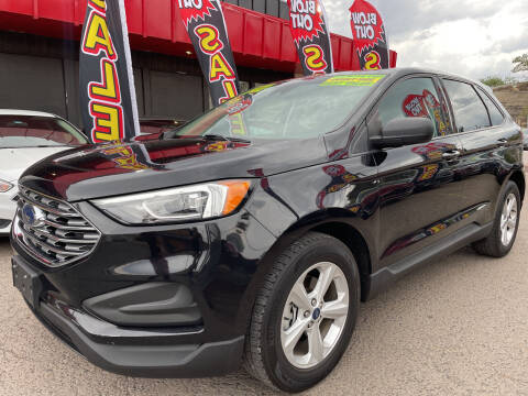 2019 Ford Edge for sale at Duke City Auto LLC in Gallup NM
