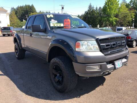 2004 Ford F-150 for sale at Freeborn Motors in Lafayette, OR