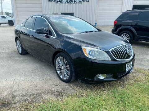 2012 Buick Verano for sale at MARLER USED CARS in Gainesville TX