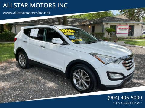 2015 Hyundai Santa Fe Sport for sale at ALLSTAR MOTORS INC in Middleburg FL