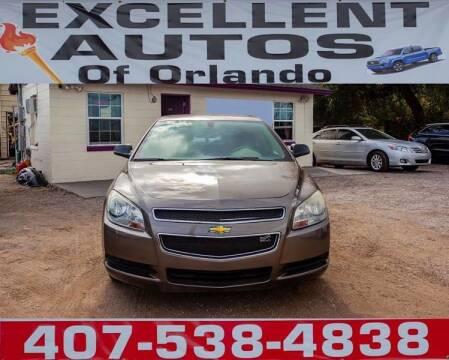 2010 Chevrolet Malibu for sale at Excellent Autos of Orlando in Orlando FL