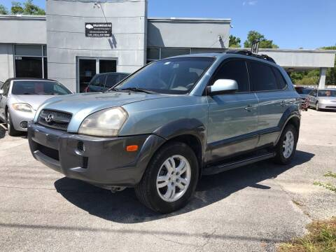 2008 Hyundai Tucson for sale at Popular Imports Auto Sales in Gainesville FL