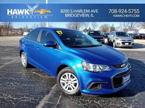 2017 Chevrolet Sonic for sale at Hawk Chevrolet of Bridgeview in Bridgeview IL