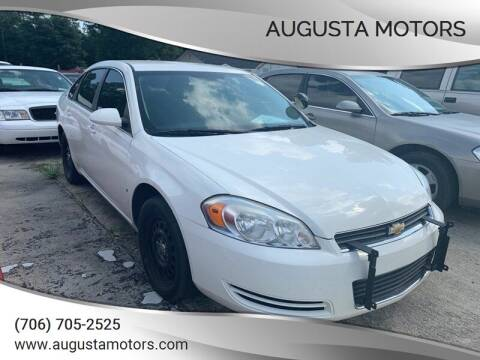 2008 Chevrolet Impala for sale at Augusta Motors in Augusta GA