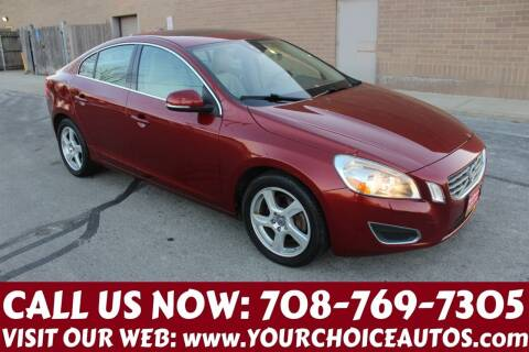 2012 Volvo S60 for sale at Your Choice Autos in Posen IL