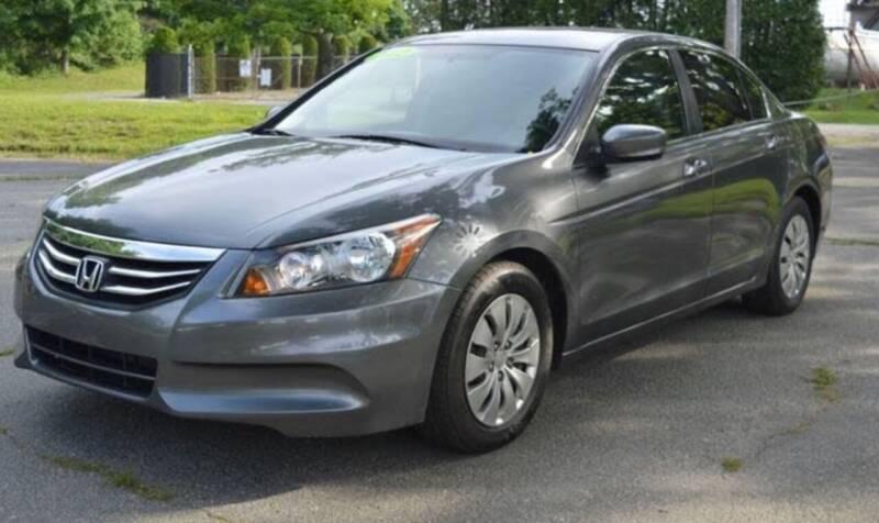 2012 Honda Accord for sale at BORGES AUTO CENTER, INC. in Taunton MA