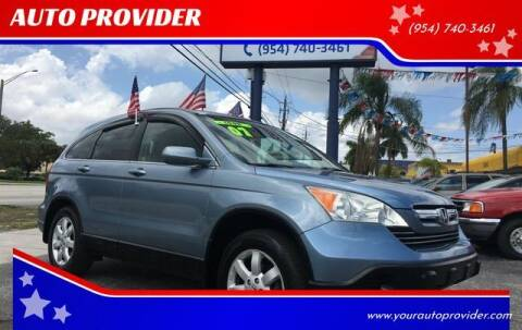 2007 Honda CR-V for sale at AUTO PROVIDER in Fort Lauderdale FL