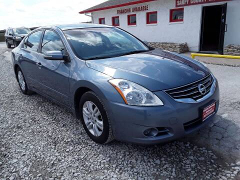 2010 Nissan Altima for sale at Sarpy County Motors in Springfield NE