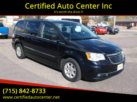 2011 Chrysler Town and Country for sale at Certified Auto Center Inc in Wausau WI