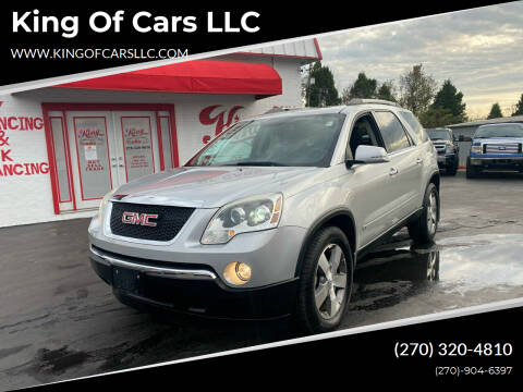 2010 GMC Acadia for sale at King of Cars LLC in Bowling Green KY
