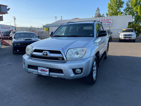 2006 Toyota 4Runner for sale at Adams Auto Sales in Sacramento CA