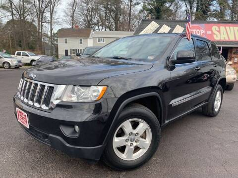 2012 Jeep Grand Cherokee for sale at 1st Choice Auto Sales in Newport News VA