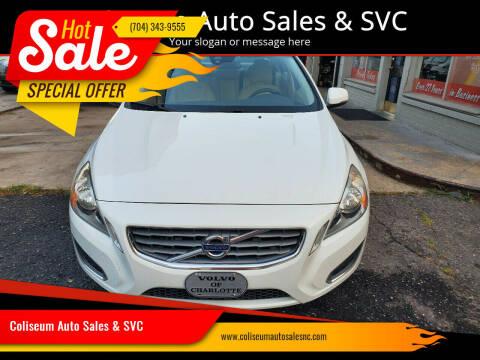 2012 Volvo S60 for sale at Coliseum Auto Sales & SVC in Charlotte NC