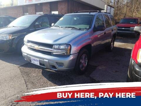 2006 Chevrolet TrailBlazer for sale at Atlas Cars Inc. - Radcliff Lot in Radcliff KY