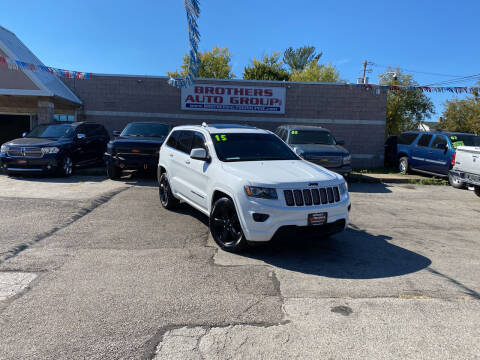 2015 Jeep Grand Cherokee for sale at Brothers Auto Group in Youngstown OH