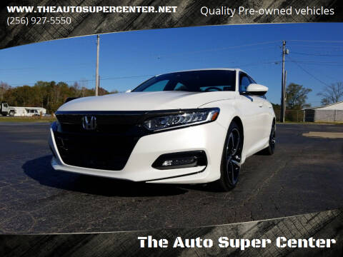 2019 Honda Accord for sale at The Auto Super Center in Centre AL