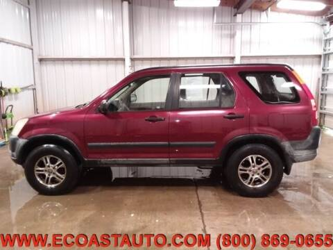 2002 Honda CR-V for sale at East Coast Auto Source Inc. in Bedford VA