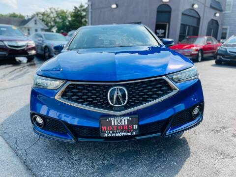 2019 Acura TLX for sale at H & H Motors 2 LLC in Baltimore MD