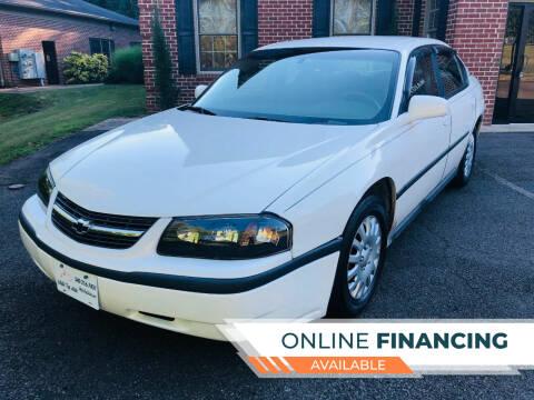 2003 Chevrolet Impala for sale at White Top Auto in Warrenton VA