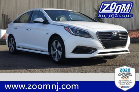 2017 Hyundai Sonata Plug-in Hybrid for sale at Zoom Auto Group in Parsippany NJ