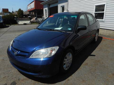 2005 Honda Civic for sale at Automotive Toy Store LLC in Mount Carmel PA