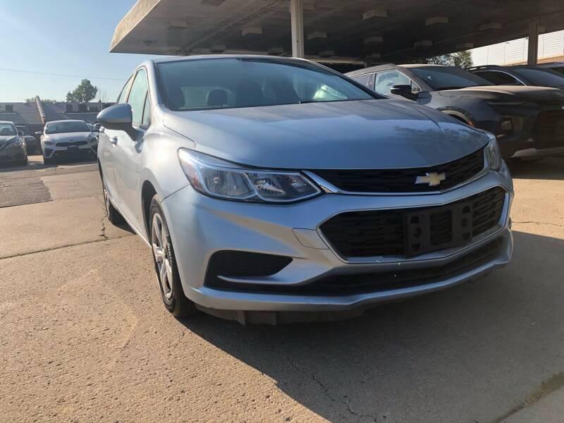 2017 Chevrolet Cruze for sale at Divine Auto Sales LLC in Omaha NE